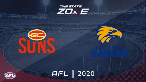Gold Coast Suns vs West Coast Eagles